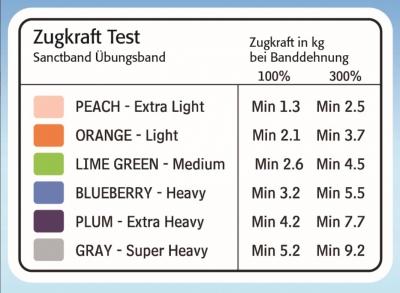 Sanctband Trainings-Set, 2 m-Band + Türanker