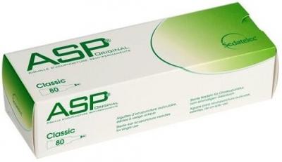 ASP Dauernadeln Stahl 80er Packung
