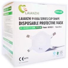 FFP3 Masken mit Ventil - 10er Box
