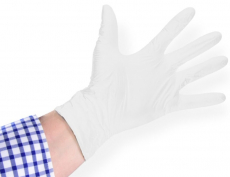 Nitril-Einweghandschuh semycare weiss