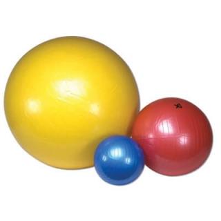 Gymnastikball gelb, 45 cm