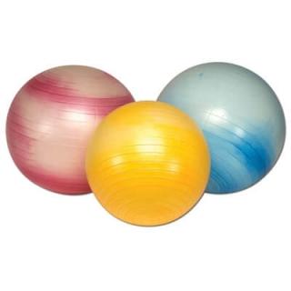 Anti-Burst Gymnastikball gelb, 45 cm