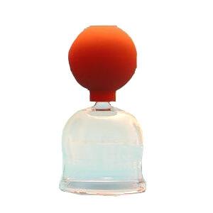 Schröpfglas mit Ball