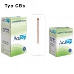 AcuTop® Akupunkturnadel, Typ CBs, 0.22 x 25 mm