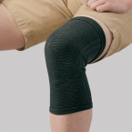 Phiten Aquatitan Bandage Knie Soft Type Schwarz