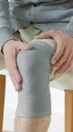 Phiten Soft Typ-Kniebandage extra warm, Grau