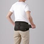 Phiten Pro Taillengurt Grösse L (95 x 115 cm) Schwarz