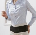 Phiten DayFit Rückengurt Light Weight Einfach Schwarz