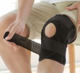 Phiten DayFit Knie Bandage Verstellbar Schwarz