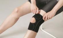 Phiten Knie Bandage EasyFit Schwarz
