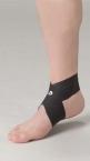 Phiten DayFit Fussgelenk Bandage LightWeight S (16 - 24 cm) Schwarz