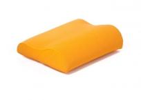 Komfort-Kissen mit Kunstlederbezug
