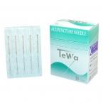TeWa CB-Type s - unbeschichtete Akupunkturnadeln