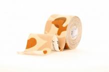 Bodytech Kinesiology Tape Design Beige-Camo 5m x 5cm