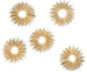 Fingerroller / Fingerringe (goldfarben)