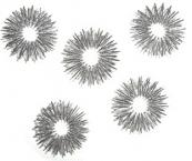Fingerroller / Fingerringe (silberfarben)