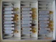 Steinessenzen Testsatz, Spitzröhrchen 26 Stück