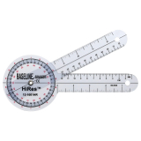 Winkelmesser, Schenkellänge 18 cm, transparent
