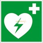 ILCOR AED Aufkleber