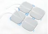 PHYSIOPADS-Klebeelektrode, 5cm x 5cm, 4er-Set