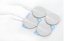 PHYSIOPADS-Klebeelektrode, Ø 3,2cm, 4er-Set