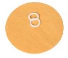 Viskose-Überzug für Punktelektroden-Aufsatz 0.8 cm, 1.5 cm, 2.5 cm, 3.5 cm