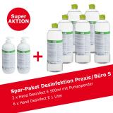 Desinfektionsmittel Spar-Paket Praxis/Büro S