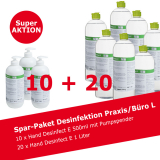 Desinfektionsmittel Spar-Paket Praxis/Büro L