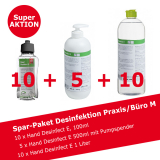 Desinfektionsmittel Spar-Paket Praxis/Büro M