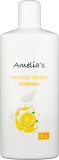 Amelias Massagelotion Zitrone