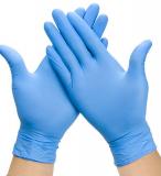 Nitril-Einmalhandschuhe solution 100 blue