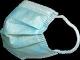 Mundschutz für Kinder - blau - 25er Box