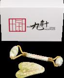Gua Sha Geschenkset Grüne Jade