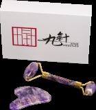 Gua Sha Geschenkset Amethyst