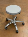 Arbeitshocker mit rundem Polstersitz mit Hebel - Demo-Modell