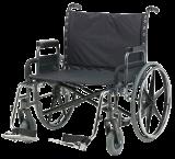 Standard-Rollstuhl Sentra XXL - mit Scheibenbremse