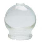 Schröpfglas ohne Ball, dickwandig