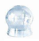 Schröpfglas ohne Ball, dünnwandig, 2.5 cm
